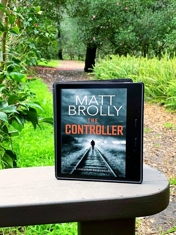 Damp Pebbles Blog Tour: The Controller by Matt Brolly